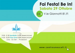 Fai festa! Be in!