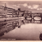 Firenze in una cartolina del 1940