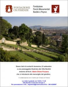 Passeggiata illustrata alla Villa Bardini